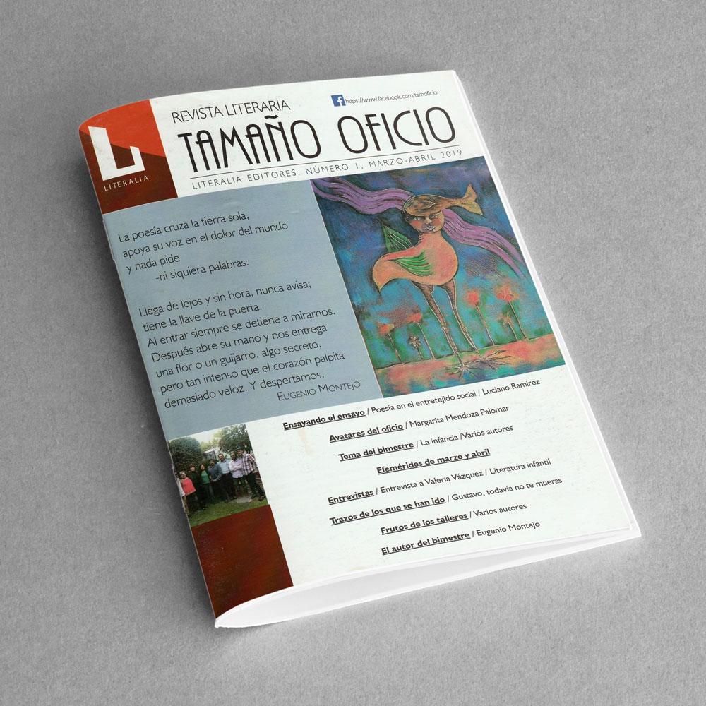 Revista Literaria Tamaño Oficio, Num. 1