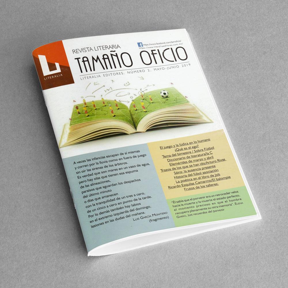Revista Literaria Tamaño Oficio, Num. 2
